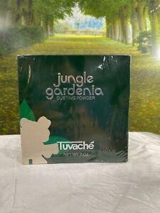Jungle Gardenia by Tuvache 7 oz Dusting Powder (brand new company sealed)