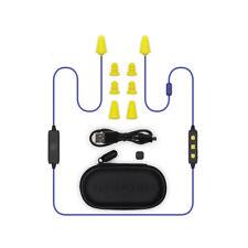 Plugfones Liberate 2.0, Wireless Bluetooth Earplugs with Audio, 26 dB NRR
