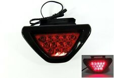 F1 style 12 LED Tail Brake Stop Light Third Red Flashing Blinker Safety Fog Lamp