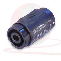 Neutrik NL4MMX 4 Pole Speakon Coupler, Adapter, Gender Changer, Joiner, Speaker
