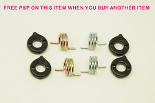"""PAIR CANTI-LEVER 3 ½"""" COIL BRAKE SPRING & COVER SET FOR FRONT AND REAR BRAKE"""