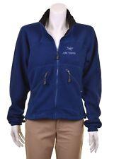 ARCTERYX Blue Full Zip Polartec Fleece Sweater Jacket Womens Ladies M