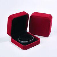 HD_ Cloth Necklace Bracelet Jewelry Display Box Storage Organizer Gift Case Eage