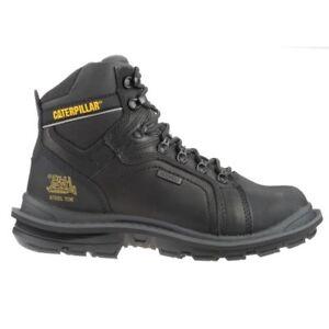 Caterpillar Men's Manifold Tough Waterproof Work Boot  Size 12 Black