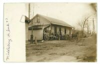 RPPC Dairy Creamery Milk Wagons MIDDLEBURG PA Snyder County Real Photo Postcard