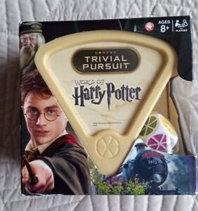 The World of Harry Potter Edition Trivial Pursuit Hasbro Gaming Brand New Sealed