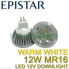 8 X LILIANO LED MR16 12W bulb downlight spotlight globe WARM WHITE NON DIMMABLE