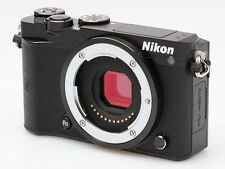 Nikon 1 J5 20.8MP mirrorless digital camera body set *black *mint *tested