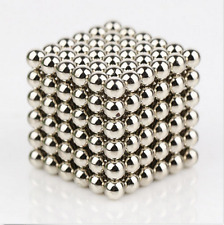 216pcs 5mm silver  Magic Beads Puzzle Sphere Balls DIY Creative toy For Children