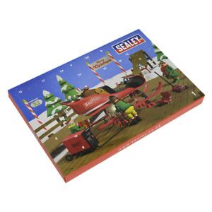 "SEALEY Christmas Advent Calendar With 1/4"" Ratchet/Socket Set, AVC002"