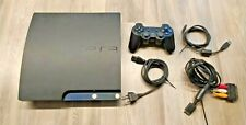 Consolle PS3 Sony PlayStation 3 120 gb Slim Nera CECH-2104A COMPLETA