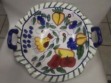 """Style-Eyes By Baum Bros Large Fruit Centerpiece Serving Bowl 13.5"""" X 14"""""""