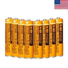 4/8/12Panasonic 550mAh NI-MH Rechargeable 1.2V Batteries AAA for Cordless Phones
