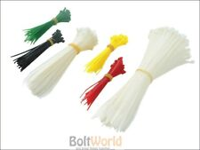 FAITHFULL FAICT400 Strong Cable Ties Tie Wrap - Barrel Pack of 400