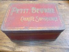 Boîte ancienne   Petit beurre qualité supérieure