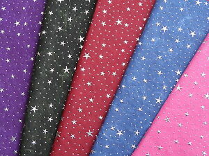 Luxury Handmade Cotton And Silk Paper Sheets With Silver Stars And Dots