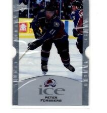 1997-98 ud ice lethal lines#l4b peter forsberg