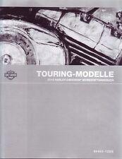 HARLEY Werkstatthandbuch 2012 Touring-Modelle DEUTSCH 99483-12DE Anleitung NEU