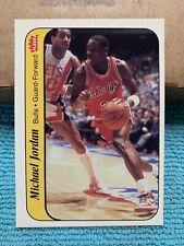 1986-87 Michael Jordan Fleer Rookie Sticker #8 🔥🔥🔥🐐