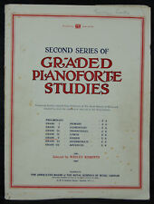 Second Series of Graded Pianoforte Studies - Grade V
