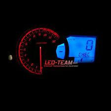 Suzuki GSX 650 1250 FA BJ 08-17 Motorrad Beleuchtung Umbau LED Set BLAU LED-Team