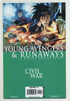 Civil War: Young Avengers & Runaways #1 (Sep 2006, Marvel) Wells, Caselli o