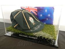 ✺Signed✺ MICHAEL HUSSEY Replica Baggy Green COA Australia 2018 Cricket