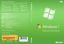 Windows 7 Home Premium 32-bit and 64-bit ISO Digital Download - No Product Key