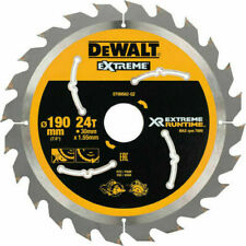 DEWALT DT99562-QZ 190mm x 30mm 24T FlexVolt Xtreme Runtime Saw Blade