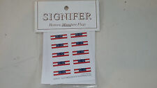 6mm Signifer Historic Flags 1st ACW Southern  national Flag