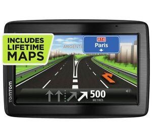 """TOMTOM Via 135 GPS Sat Nav 5""""- with UK, ROI & Full Europe,Free lifetime Maps"""