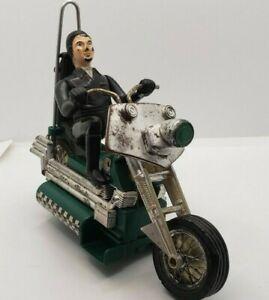 Hasbro Green Scream'n Demons Doom Buggy Motorcycle WORKS 1971 Screamin Screaming