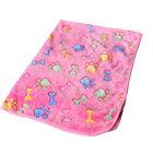 Hot Warm Pet Mat Small Large Paw Print Cat Dog Puppy Fleece Soft Blanket Cushion