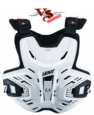 Leatt CHEST PROTECTOR 2.5 WHITE Neck brace READY Adult Small-XLarge Motocross