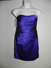 Davids Bridal Dress Size 4 Regency Strapless F15629 Bridesmaid Prom NWT $149