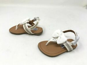 Girls Toddlers Not Rated (99124421) Junbow white sandals (H19)
