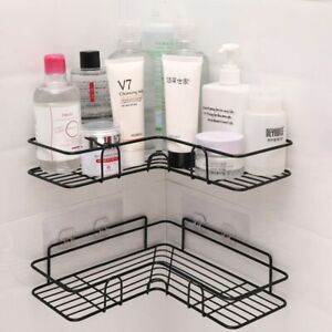 Shampoo Rack Stainless Steel Durable Home Bathroom Storage Organizer Accessories