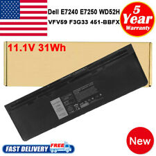 New listing For Dell Latitude E7240 E7250 Battery 11.1V 39Wh P/N Wg6Rp F3G33 Wd52H Kwffn