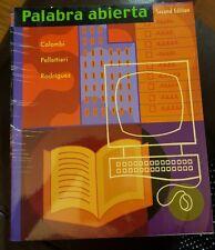 Palabra Abierta by Colombi, Pellettieri, Rodriguez Paperback Book (Spanish)