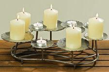 Kerzenleuchter Anipa Kerzenhalter für 5 Kerzen und 4 Teelichter Tischdekoration