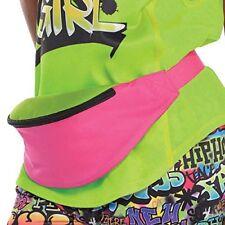 Amscan 80 S Retrò Hip Hop Marsupio rosa e verde