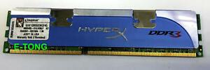 qty1 Kingston HYPERX 2GB DDR3-12800 KHX12800D3K2/4G 1.9V Desktop RAM Memory