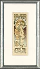 """Original 1899 """"La Samaritaine"""" by Alphonse Mucha –Maîtres de l'Affiche Plate 166"""
