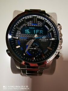 Casio Edifice Mens Tough Solar Bluetooth Watch ECB-800D-1AEF