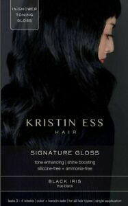 Kristin Ess Signature Gloss Black Iris True Black