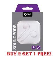 Boxed Ear Pods Earphones Handsfree Headphones For Apple iPhone 5 6 7 Samsung