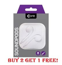 Boxed Ear Pods Earphones Handsfree Headphones For Apple iPhone 5 6 7 Samsung
