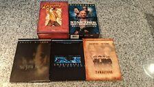 Collector Dvd Lot Indiana Jones, Star Trek, Sixth Sense, Unbreakable, Tombstone