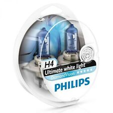 PHILIPS H4 Diamond Vision 5000K Bulbs 12342DVS2 - OZ Seller