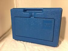 LEGO Vintage 1983 Blue Carrying Storage Case Hard Plastic RARE